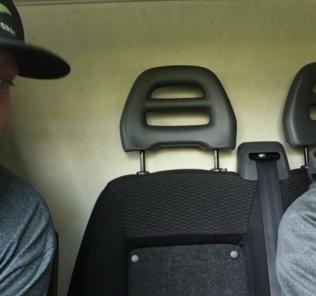 Man in a Van Josh Gilbert