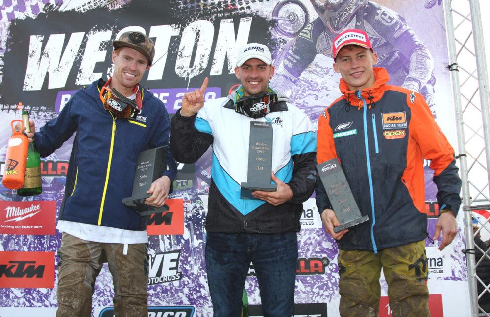 2019 Weston Beach Race Podium
