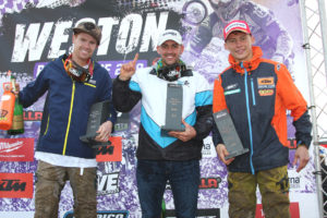 2019 Weston Beach Race Podium