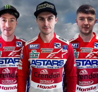Crendon Fastrack Honda team