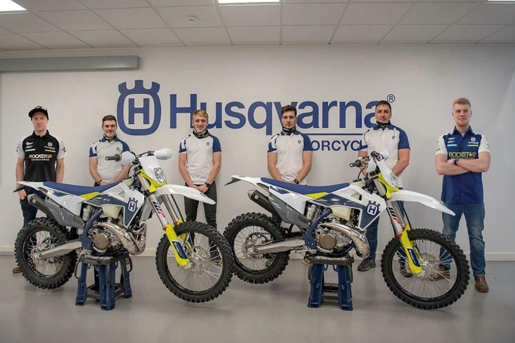 Graham Jarvis Husqvarna Enduro Team