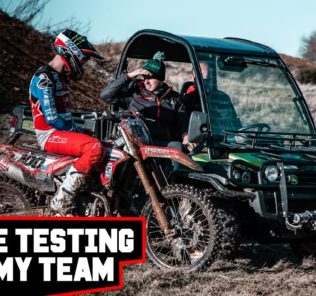 Tommy Searle Testing Race Engines